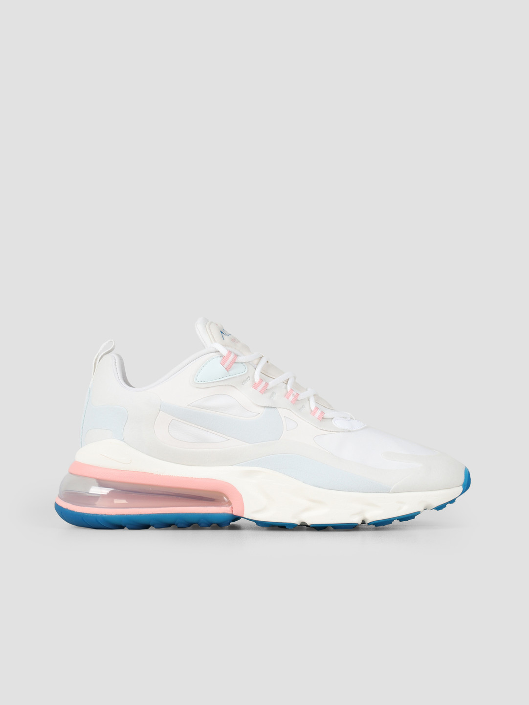 size 40 6049c c2f69 Nike Air Max 270 React Summit White Ghost Aqua Phantom AO4971-100