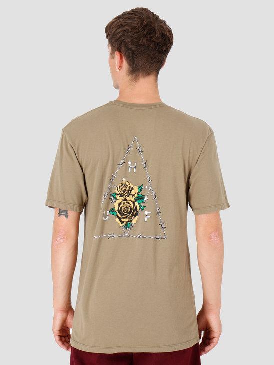 HUF Dystopia TT T-Shirt Dried Herb TS00793-DDHRB