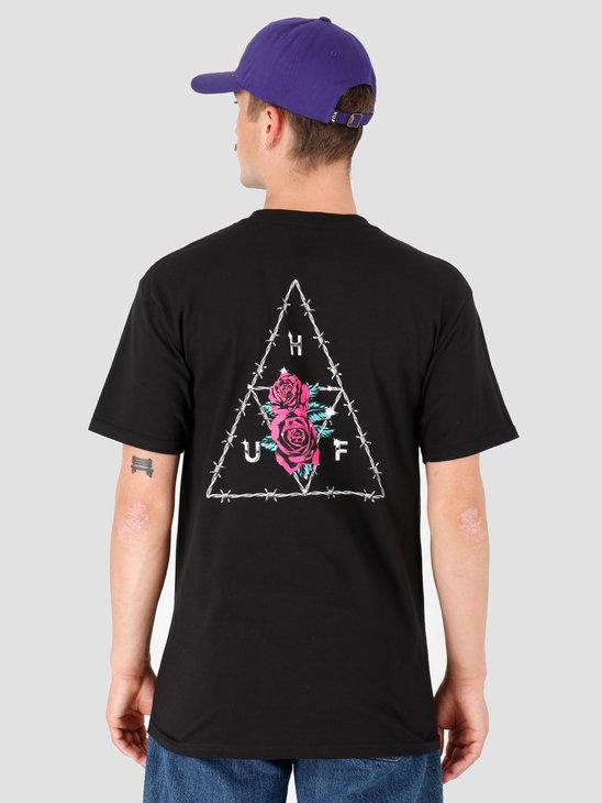 HUF Dystopia TT T-Shirt Black TS00793-BLACK