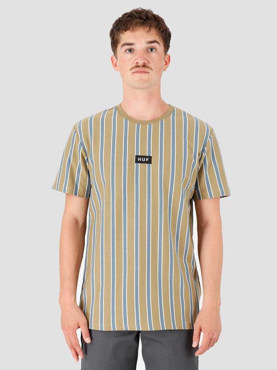 HUF Dexter Stripe Knit Top Dried Herb KN00116-DDHRB