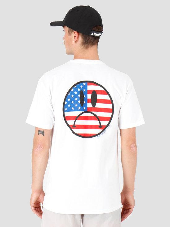 HUF Bummer Usa T-Shirt White TS00800-WHITE