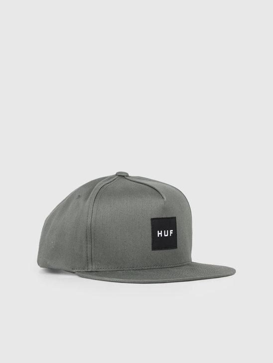 HUF Essentials Box Snapback Hat Army HT00343-Army
