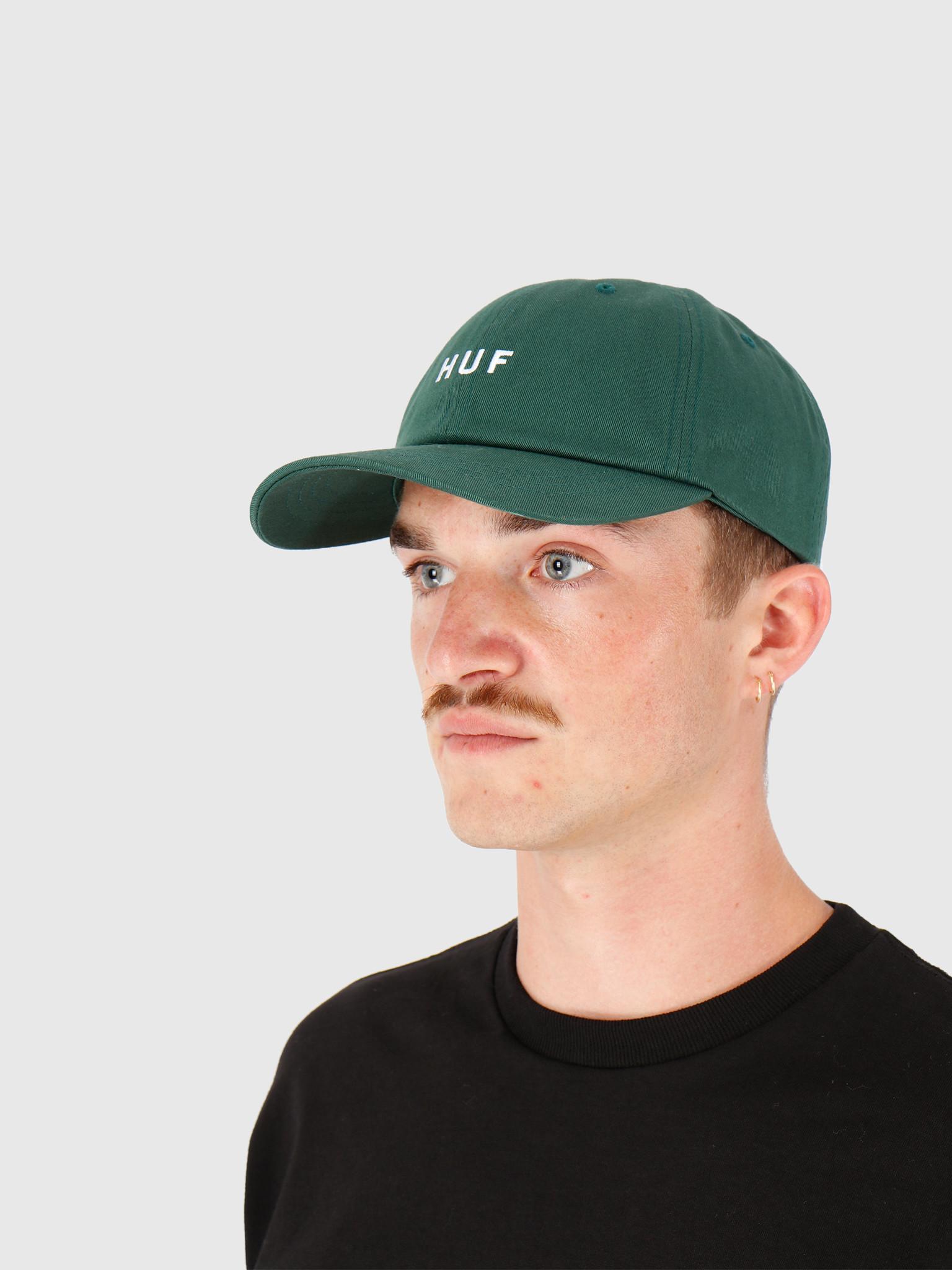 HUF HUF Essentials OG Logo Cv Hat Botanical Green HT00345-BTCGN