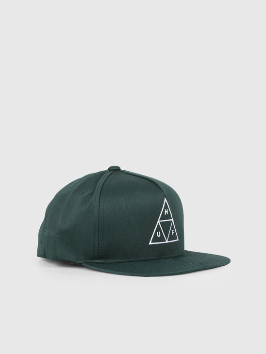HUF Essentials TT Snapback Hat Botanical Green HT00344-BTCGN