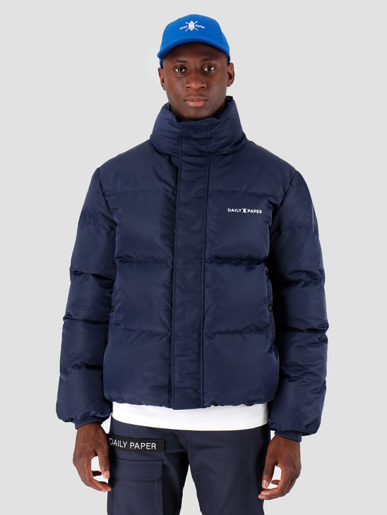 Daily Paper Core Puffer Navy 18F1OU02