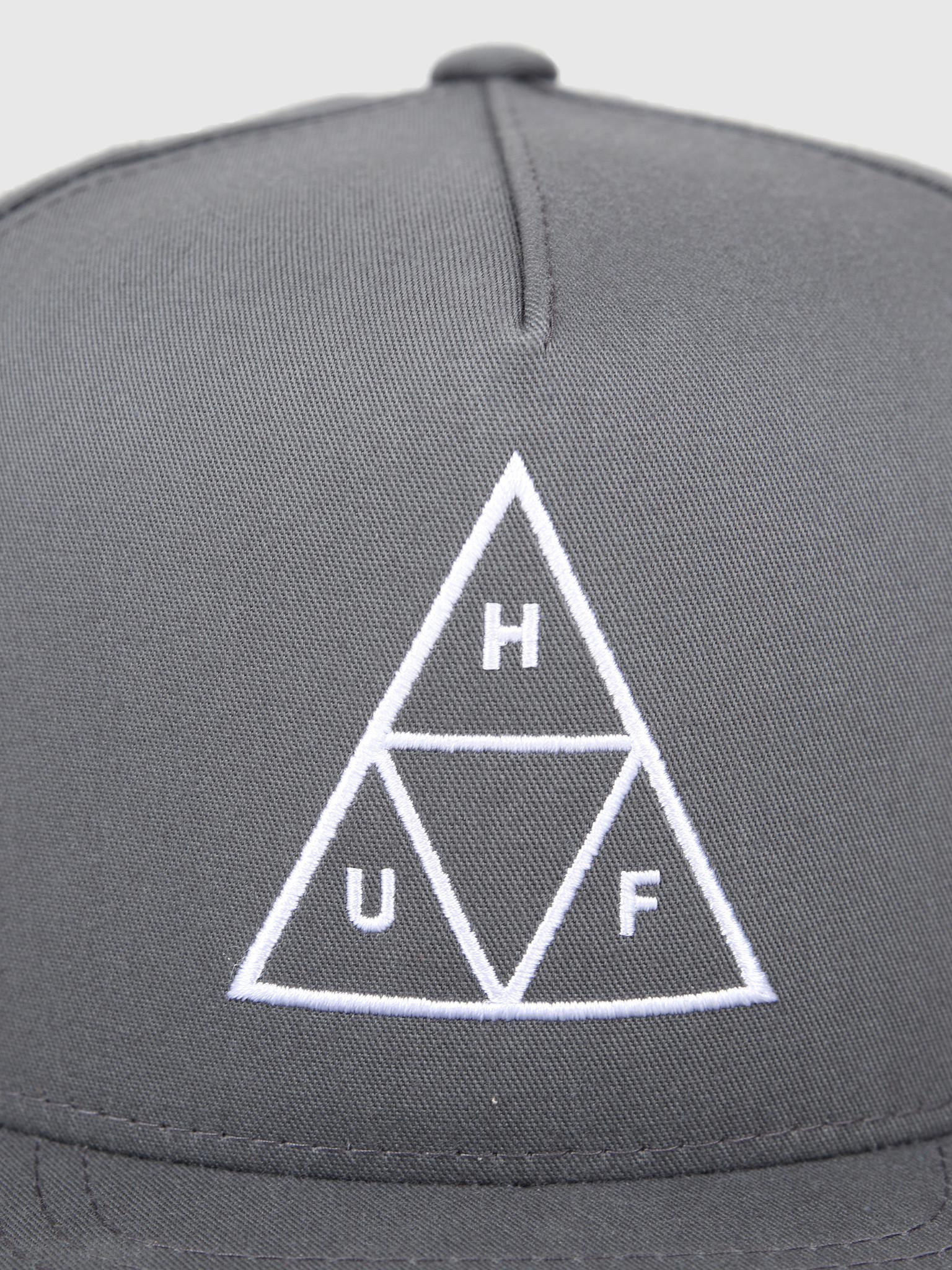 HUF HUF Essentials TT Snapback Hat Charcoal HT00344-Charc