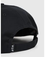HUF HUF Hazard 6 Panel Hat Black HT00387-BLACK