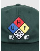 HUF HUF Hazard 6 Panel Hat Botanical Green HT00387-BTCGN