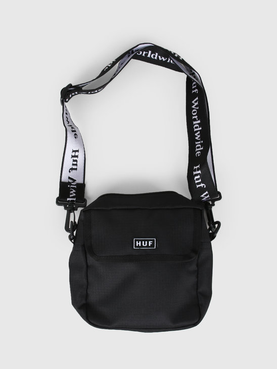 HUF Tompkins Shoulder Bag Black AC00233