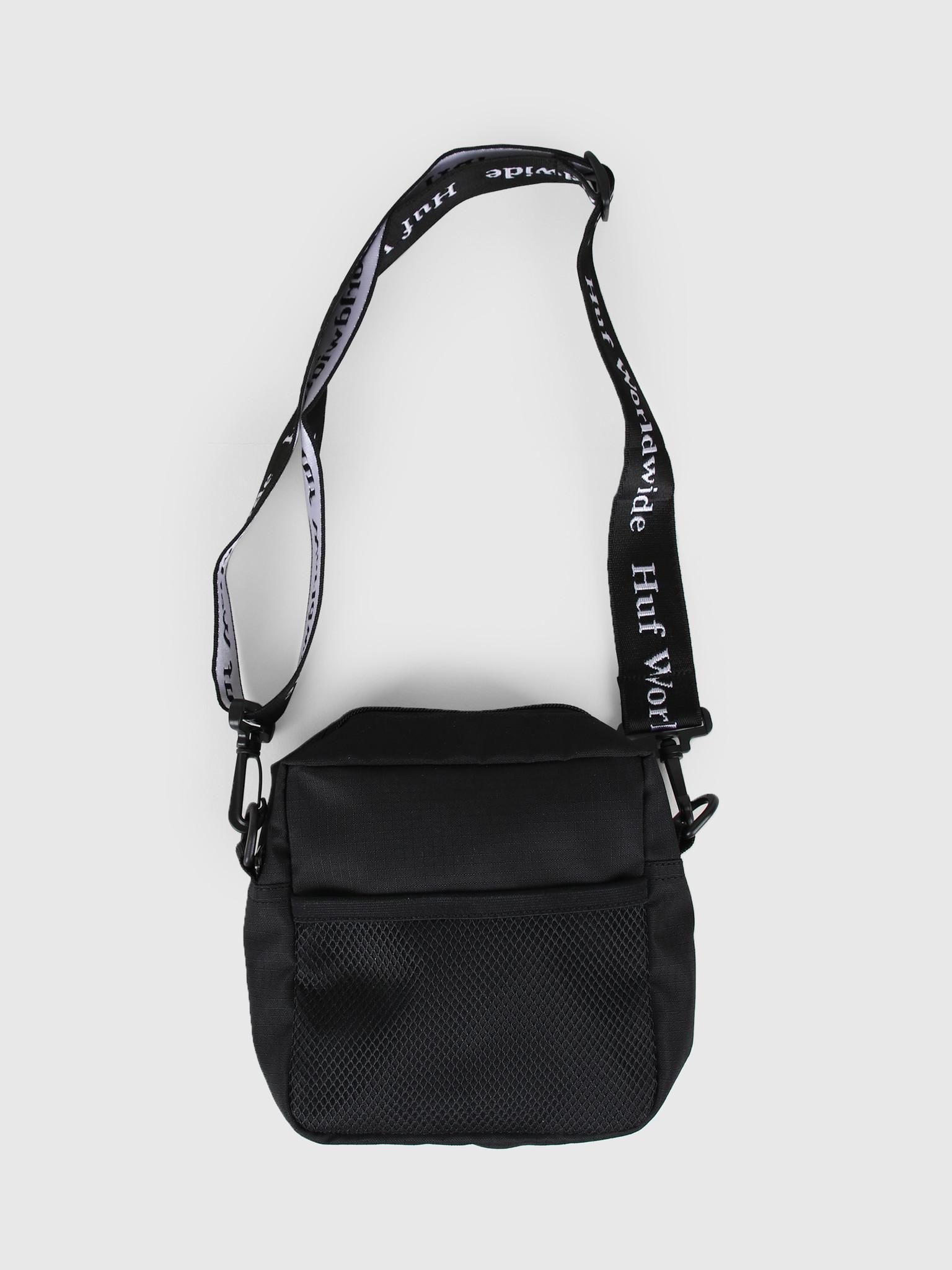 HUF HUF Tompkins Shoulder Bag Black AC00233