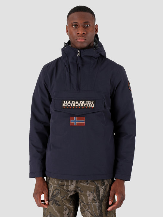 NAPAPIJRI Rainforest Winter 1 Anorak Blu Marine N0YGNJ176