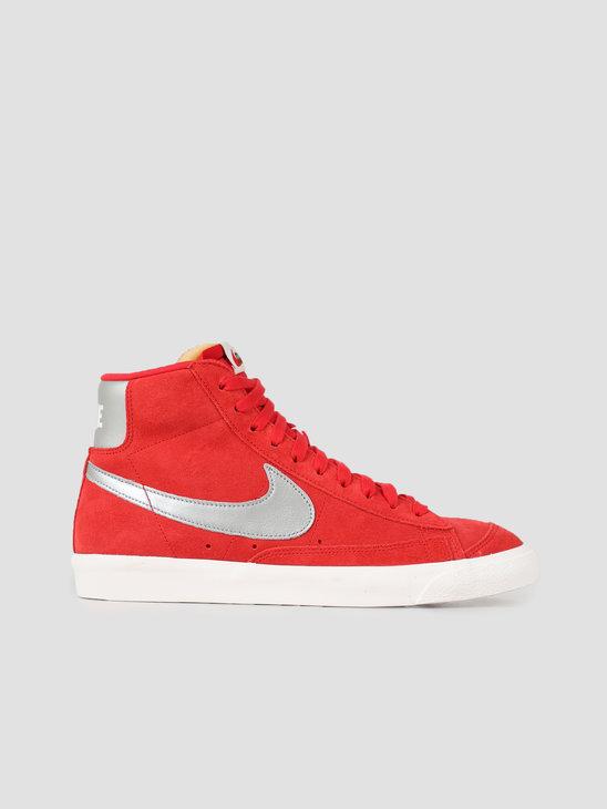 Nike Blazer 77 University Red Metallic Silver Sail CJ9693-600