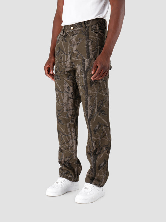 Carhartt WIP Double Knee Pant Camo Tree Green I026489