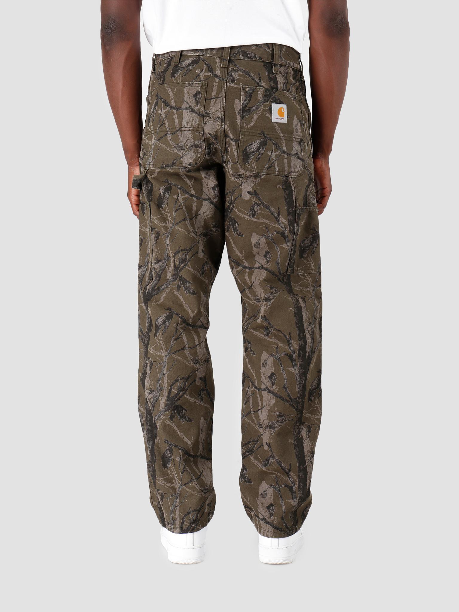 Carhartt WIP Carhartt WIP Double Knee Pant Camo Tree Green I026489