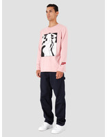 By Parra By Parra Artist Businesswoman Long Sleeve Rose 42720