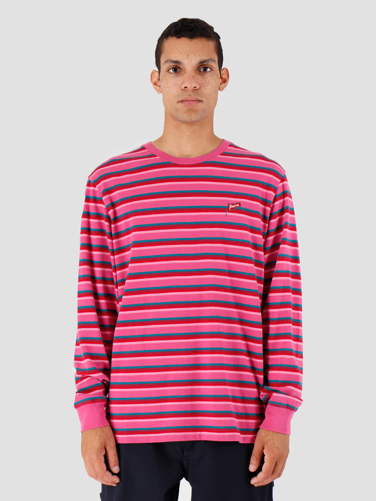 By Parra Flapping Flag Long Sleeve T-Shirt Pink 42860