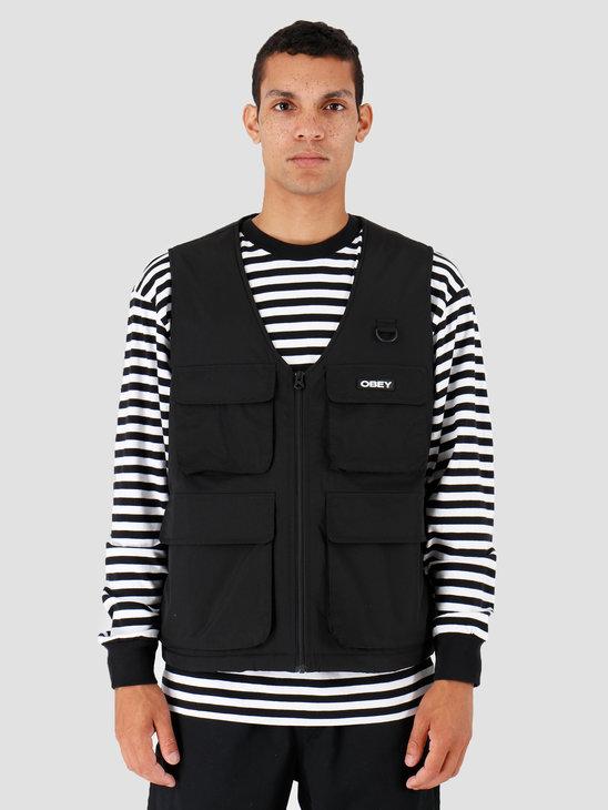 Obey Nomad Vest Black 121810008-BLK