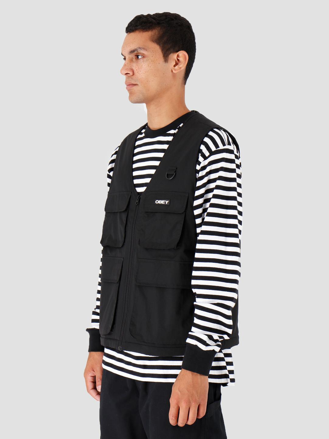 Obey Obey Nomad Vest Black 121810008-BLK