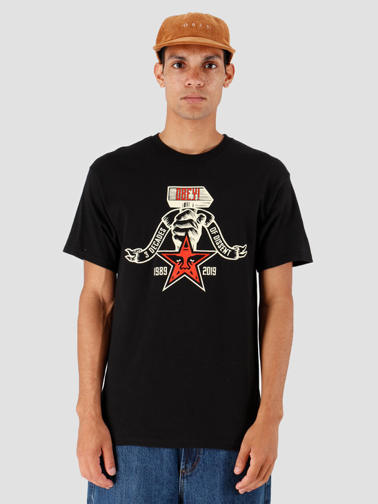 Obey 3 Decades Of Dissent Black 163082251-BLK