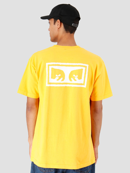 Obey Eyes 3 Heavy Weight Classic Box T-Shirt Gold 166911826-GLD