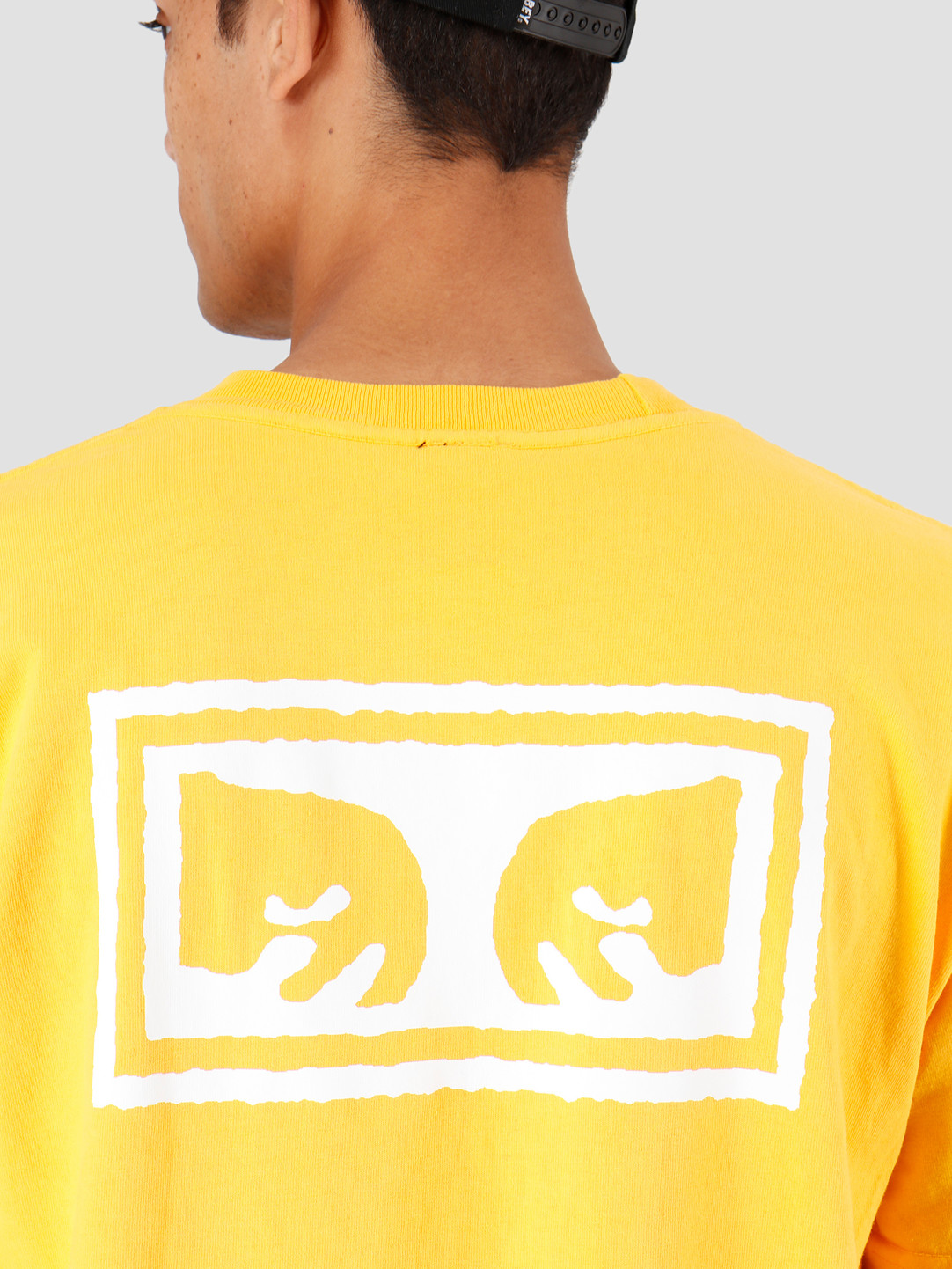 Obey Obey Eyes 3 Heavy Weight Classic Box T-Shirt Gold 166911826-GLD