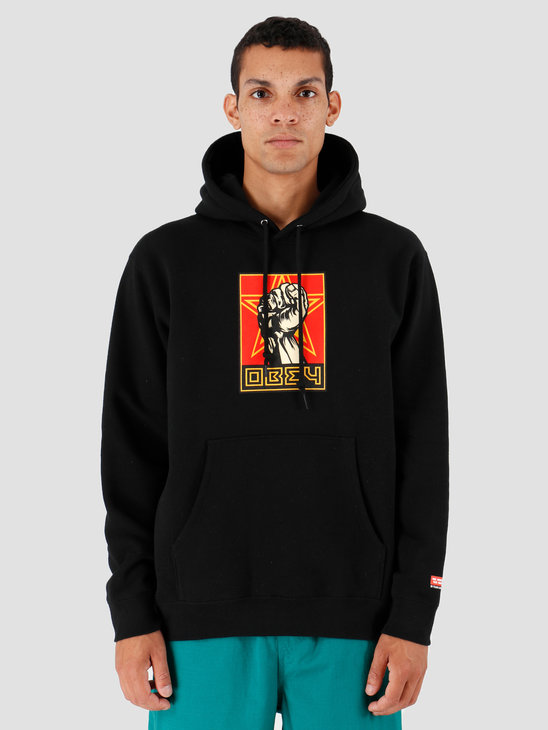 Obey Fist 30 Years Black 112842262-BLK