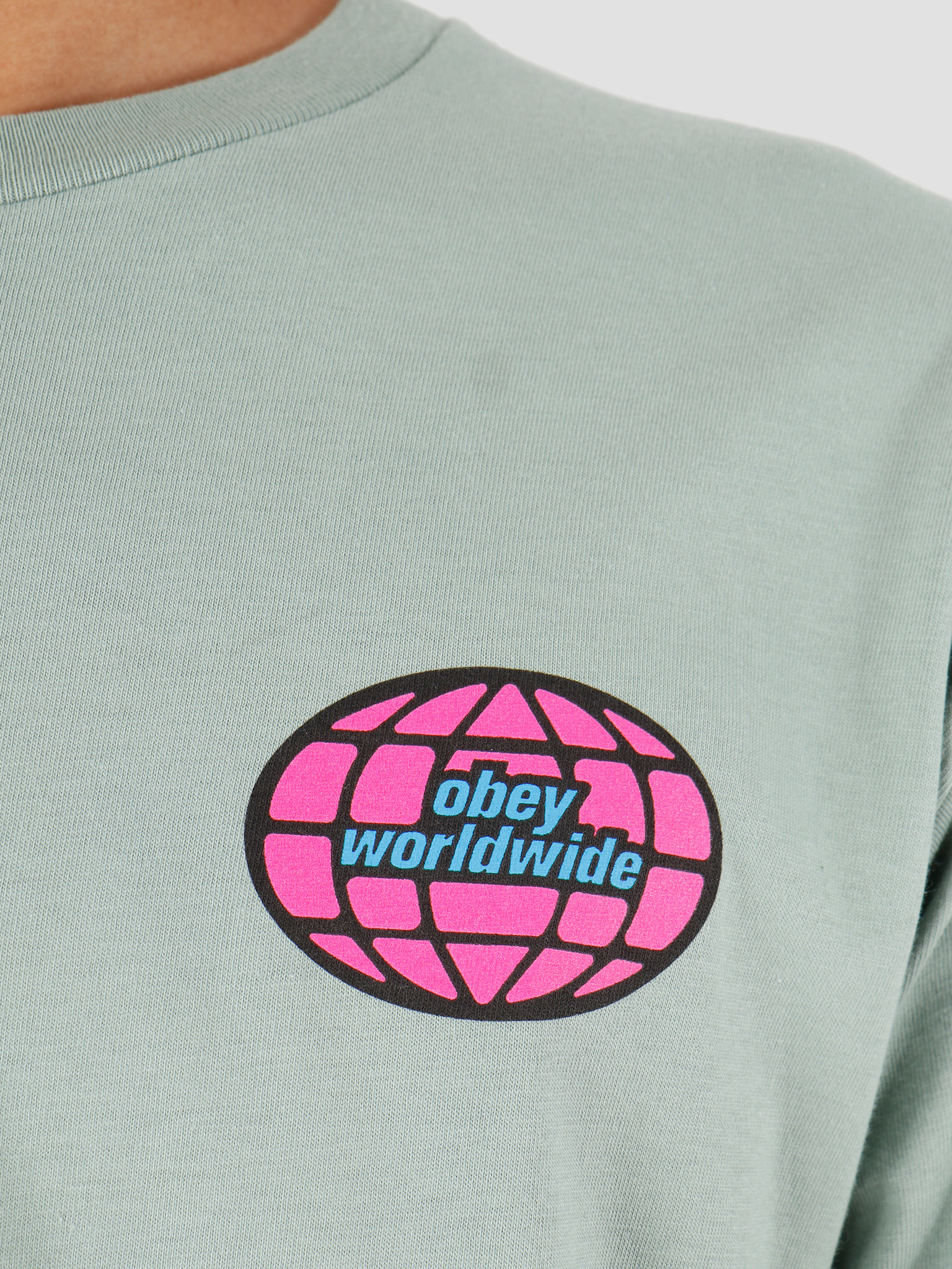 Obey Obey Global Worldwide Sage 163082082-SAG