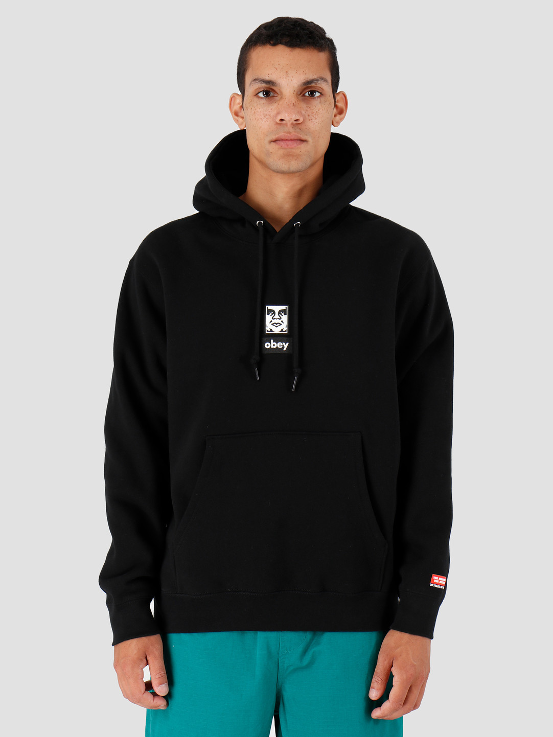Obey Obey Icon Face 30 Years Black 112842253-BLK