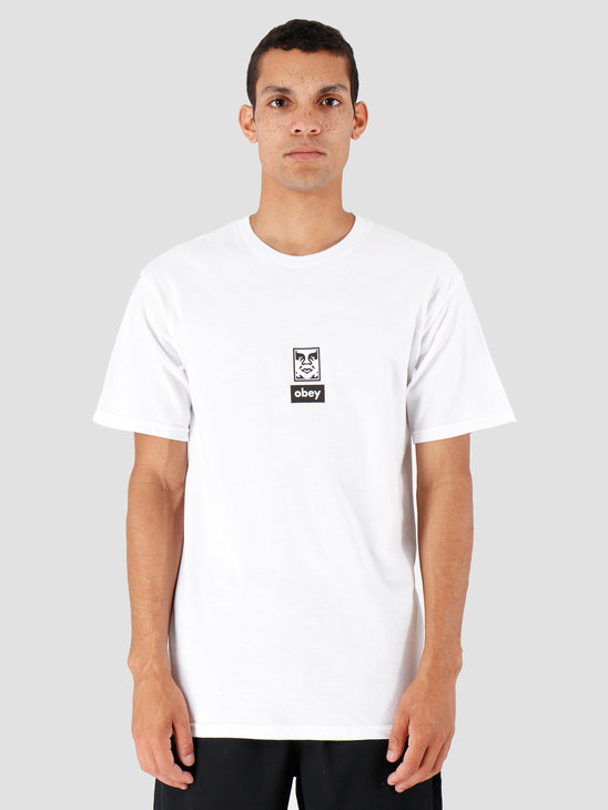 Obey Icon Face 30 Years White 163082253-WHT