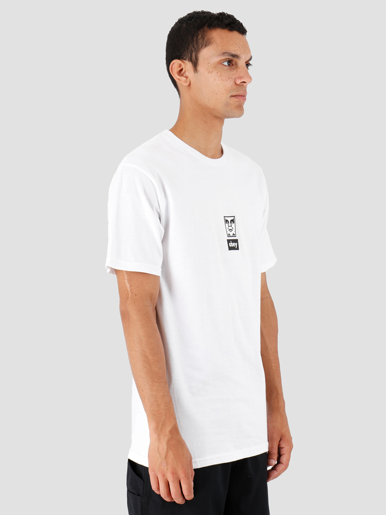 Obey Obey Icon Face 30 Years White 163082253-WHT