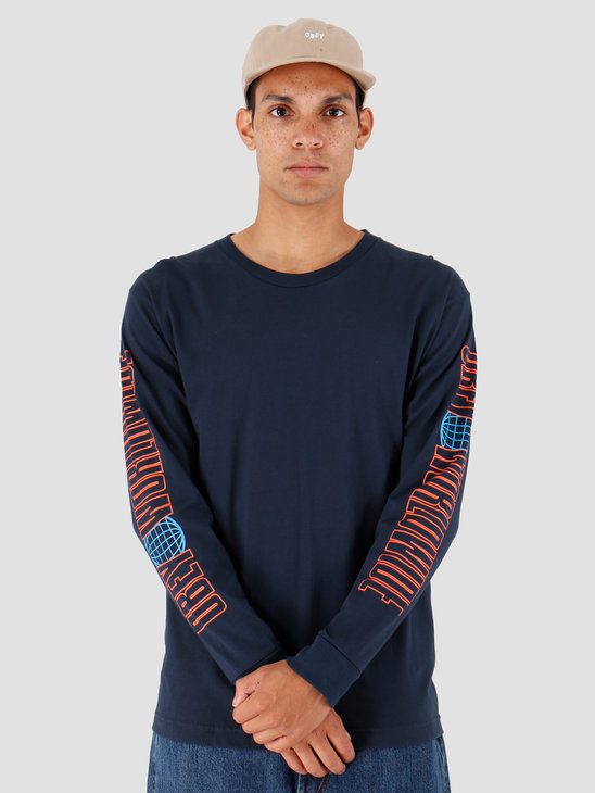 Obey Worldwide 2 Navy 164902101-NVY