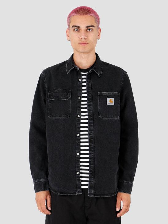 Carhartt WIP Salinac Shirt Jacket Black I027545