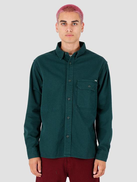Carhartt WIP Longsleeve Reno Shirt Dark Fir I026532