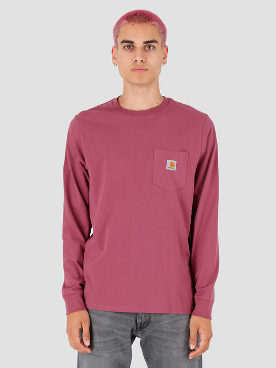 Carhartt WIP Longsleeve Pocket Shirt Dusty Fuchsia I022094