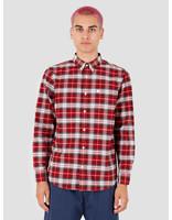 Carhartt WIP Carhartt WIP Longsleeve Linville Shirt Linville Check Cardinal Wax I026801