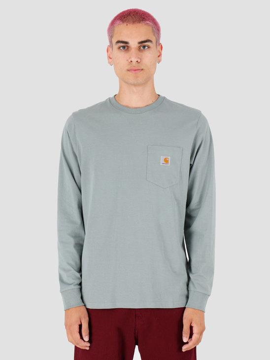 Carhartt WIP Longsleeve Pocket Shirt Cloudy I022094