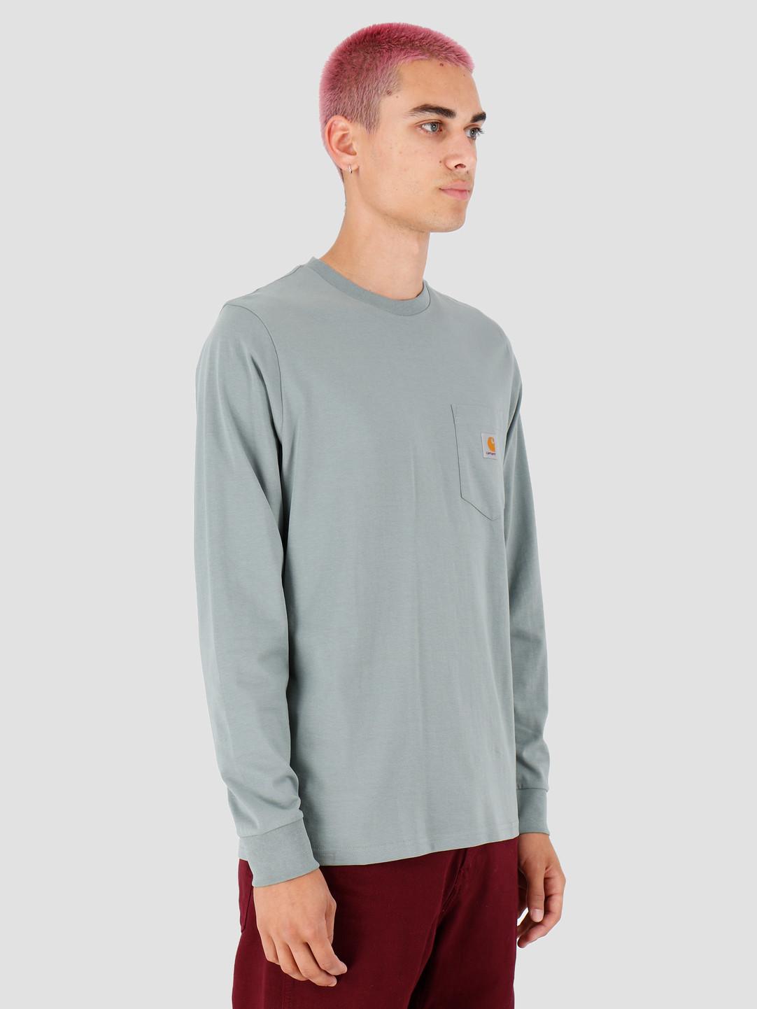 Carhartt WIP Carhartt WIP Longsleeve Pocket Shirt Cloudy I022094