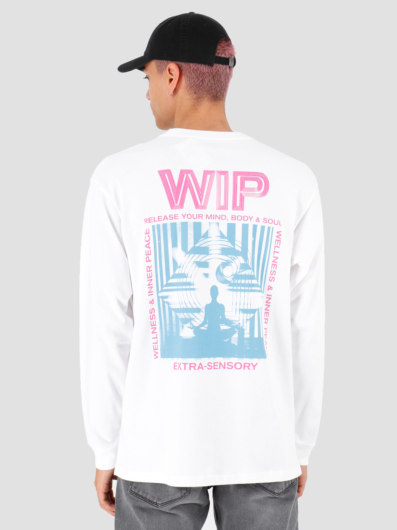 Carhartt WIP Carhartt WIP Longsleeve Mind Shirt White I027082