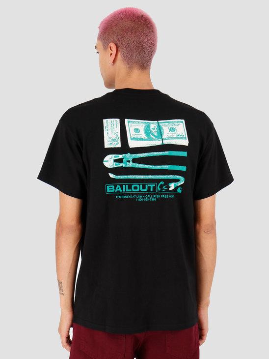 Carhartt WIP Bailout T Shirt Black I027077
