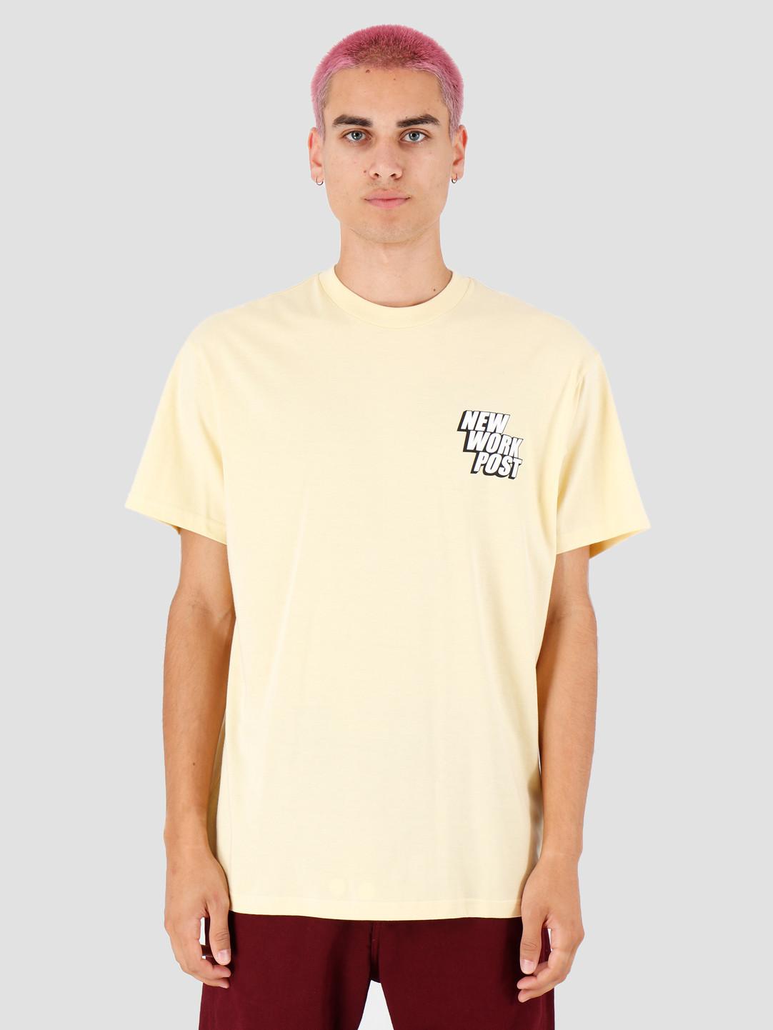 Carhartt WIP Carhartt WIP Post T Shirt Pale Yellow I027108