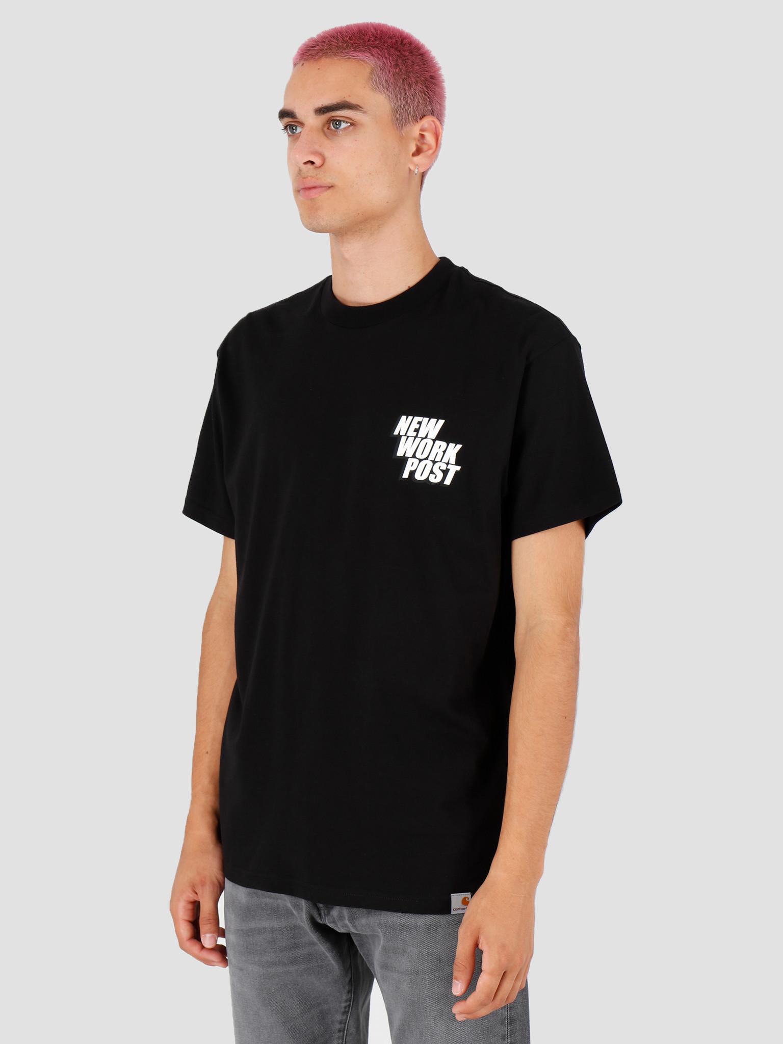 Carhartt WIP Carhartt WIP Post T Shirt Black I027108