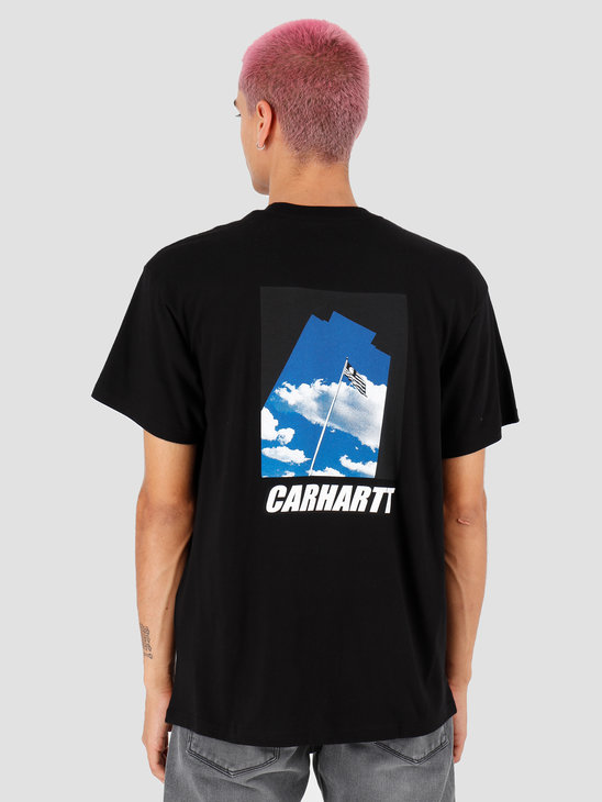 Carhartt WIP Post T Shirt Black I027108