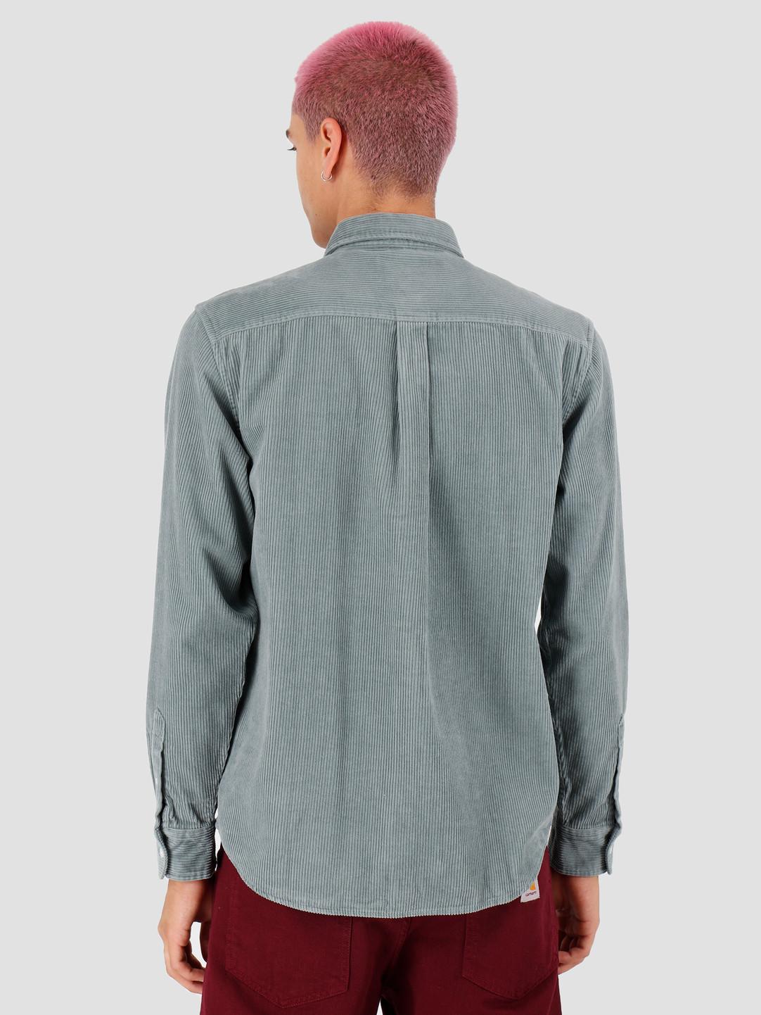 Carhartt WIP Carhartt WIP Longsleeve Madison Cord Shirt Cloudy Flour I025247