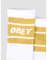 Obey Obey Cooper II Socks White Golden Palm 100260093-GPM