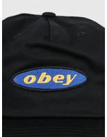 Obey Obey Rotation Snapback Black 100570098-BLK