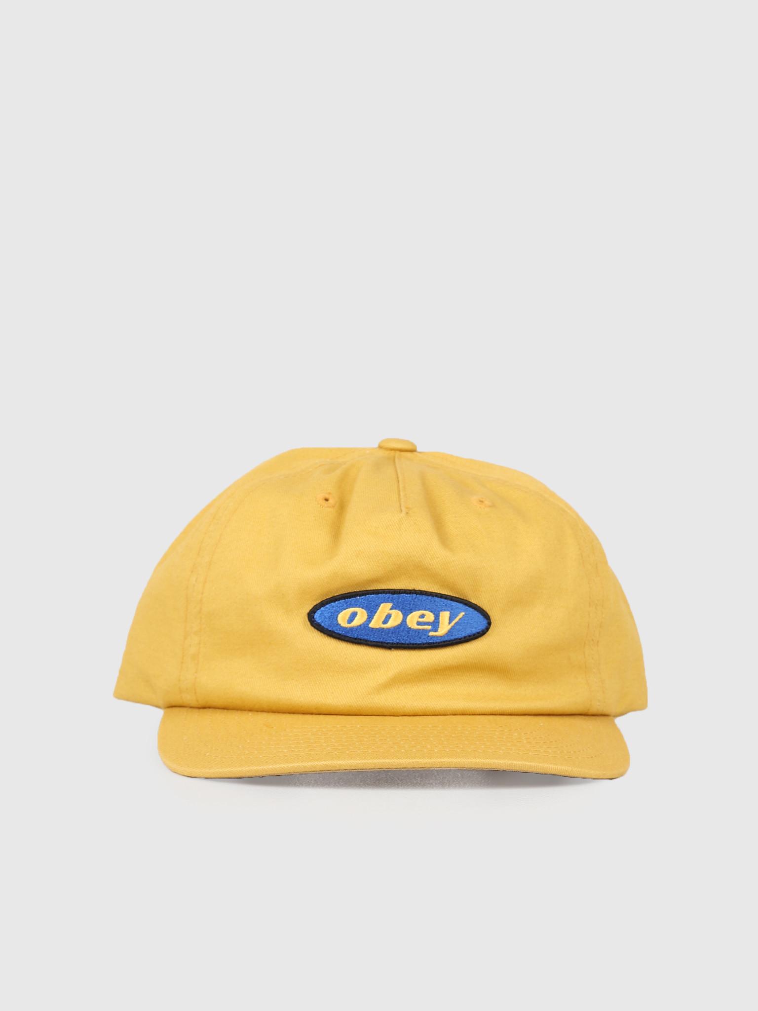 Obey Obey Rotation Snapback Golden Palm 100570098-GPM