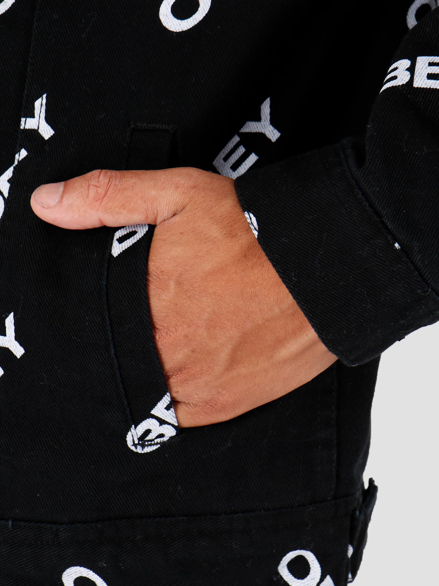 Obey Obey Dynamite Jacket Slanted Black 121800391-BLK