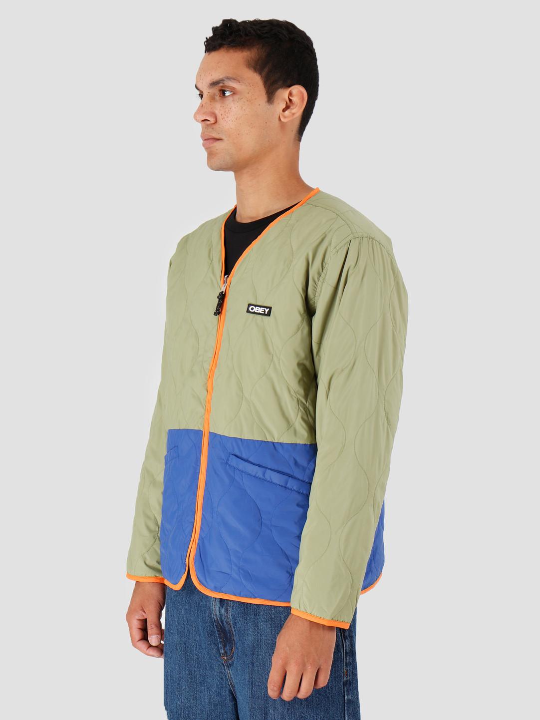 Obey Obey Nonsense Liner Jacket Burlap Multi 121800387-BUM