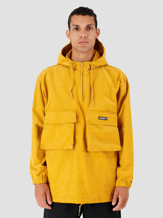 Obey Shiner Anorak Golden Palm 121800390-GPM