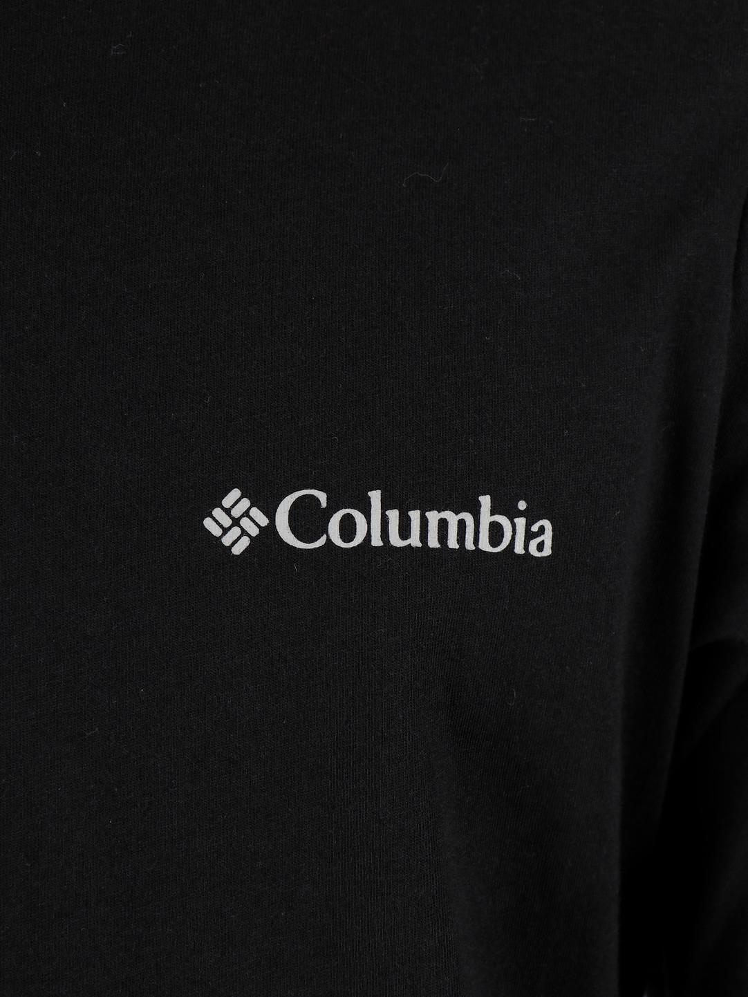 Columbia Columbia Columbia Lodge Longsleeve Graphic Tee Black Sleeve H 1867302010